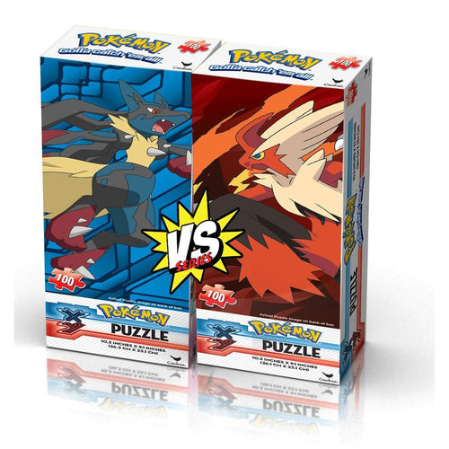 Pokemon Tower Puzzles (2-Pack - 100 Pieces Ea)