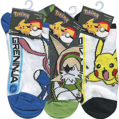 Pokemon Pikachu Toddler Socks (Size 6-8.5) - 3 Pairs