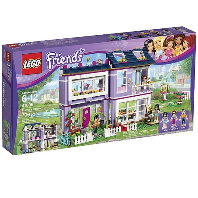 LEGO Friends Emma's House [41095 - 706 pieces]
