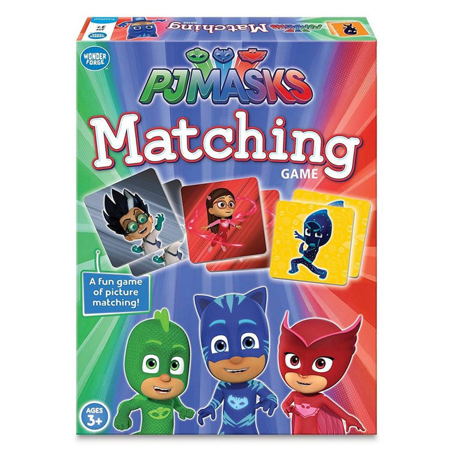 PJ Masks Memory Matching Game