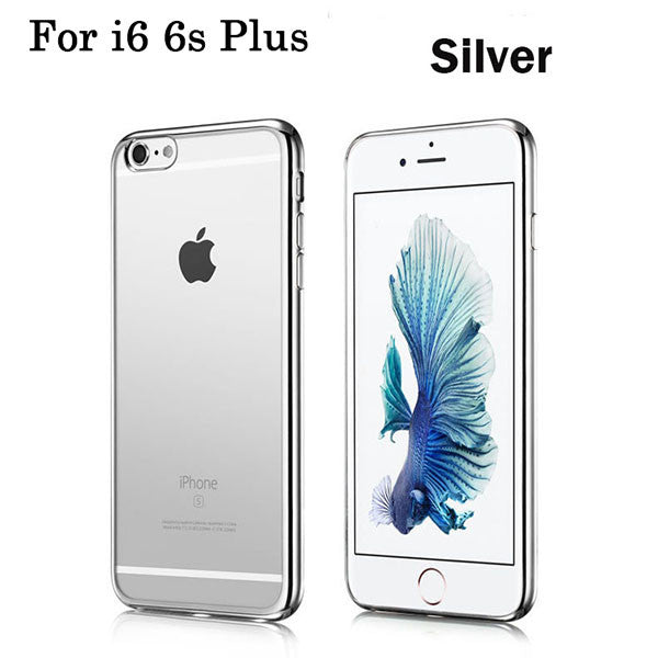 "Free Ship! For iPhone 6 Plus 5.5/"" TPU Soft Clear Silicon Case Cover i6 Plus"