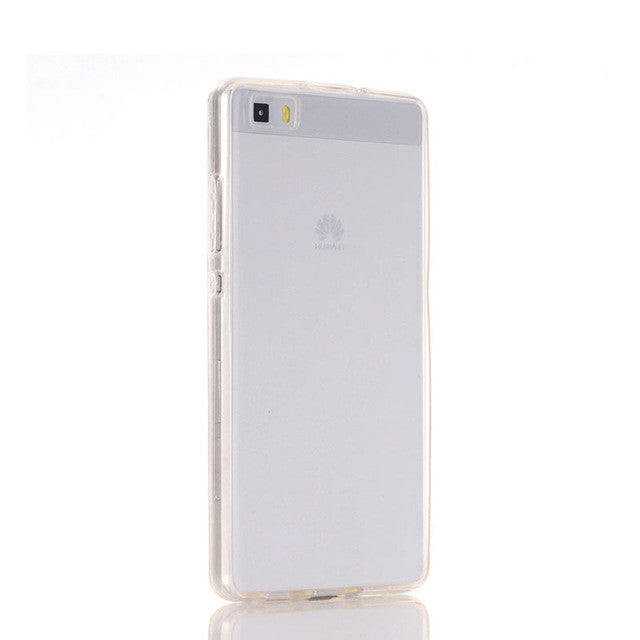 P8 Lite Clear TPU Case For Huawei P8 P9 Lite Cover Ultra thin Soft Gel Silicone 360 Full Body Protective Phone Cases Capa Shell