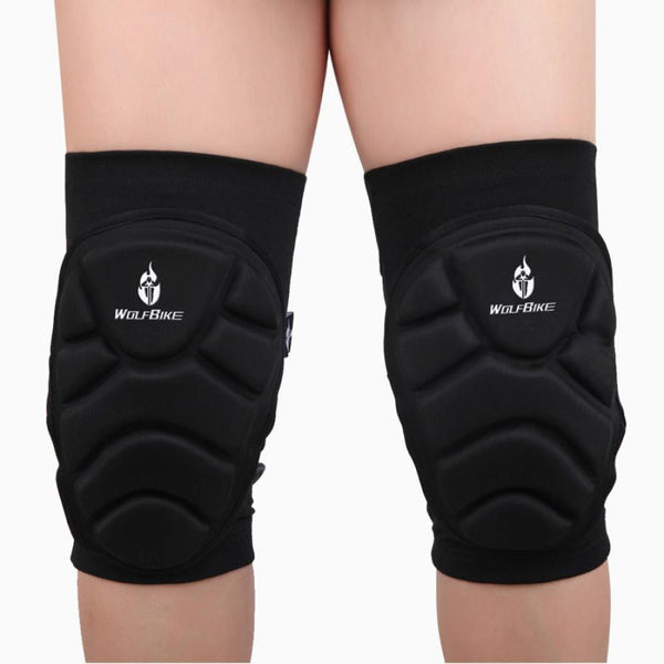 2X Outdoor Extreme Sports knee pads Protect Football Cycling Knee Protector#XTJ - ilovealma