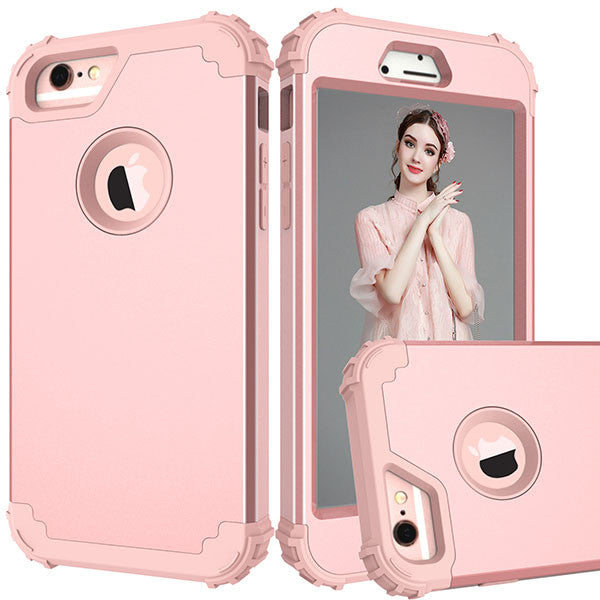 360 Shock Armor Case For iPhone 7 6 6S Plus Fundas High Quality Durbale 3 in 1 Hybrid PC + TPU Back Cover Anti-Knock Phone Cases - ilovealma