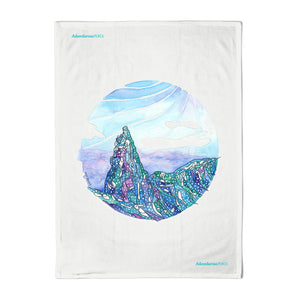 Cuillin Ridge Tea Towel