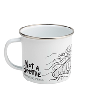 Load image into Gallery viewer, Not a Bootie - Enamel Mug 10oz
