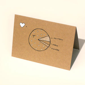 Pie of Love Card