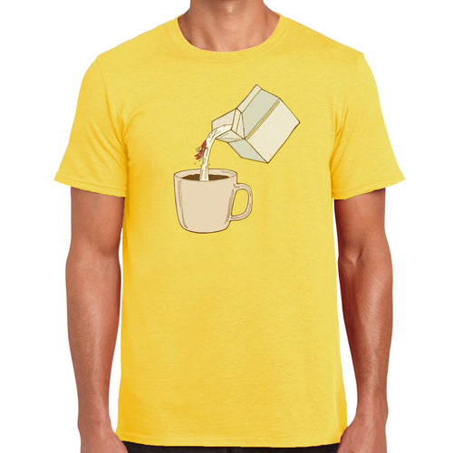 milky kayak tee. For the whitewater paddler.