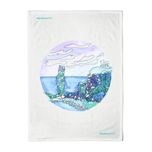 Old Man of Hoy Tea Towel