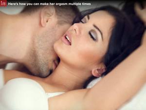 How to make her orgasm multiple times ?
