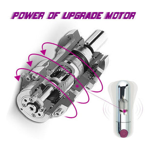 Powerful Bullet 10 Function Rechargeable Bullet Vibrator