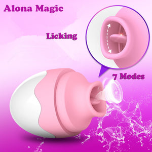 Lovely Clitoral Tongue Vibrator Egg for Clitoral Orgasm