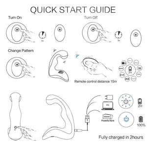 KingKong Remote Control Wireless Prostate Massager