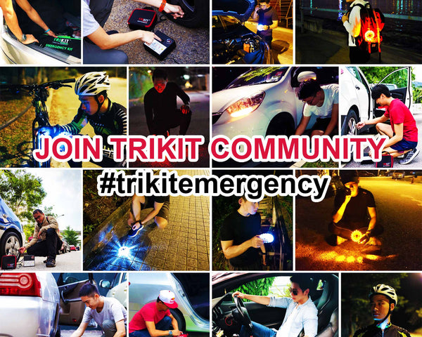 Join TRIKIT Community #trikitemergency