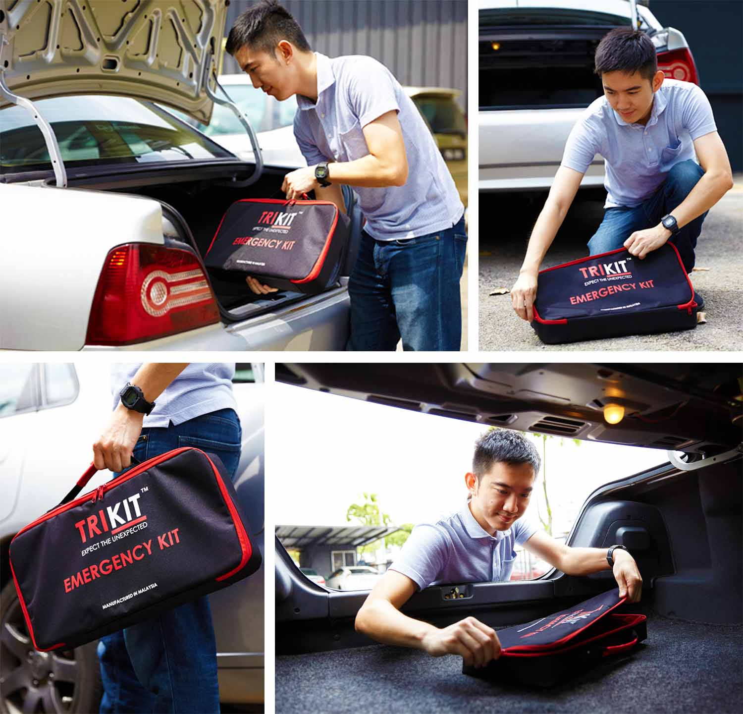 TRIKIT ANTI SLIP CAR KIT BAG