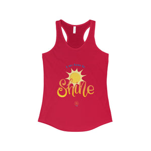 Here to Shine Racerback Tank