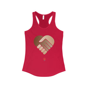 One Heart Racerback Tank