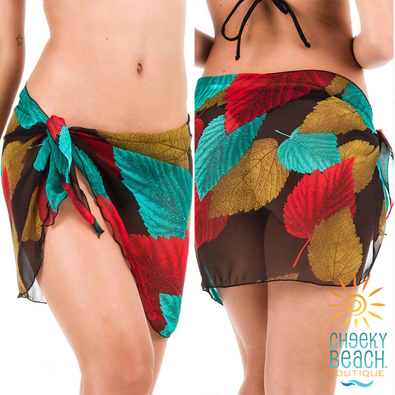 Multicolor Leaves Cover-up
