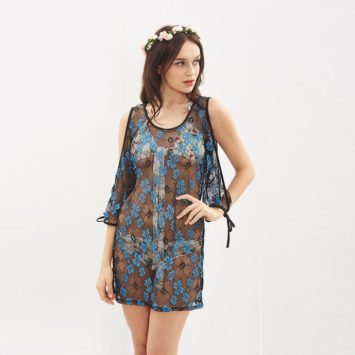 Strapless Beach Cover Up Dress