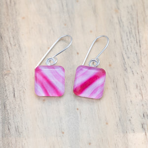 Peppermint Stripe Earrings