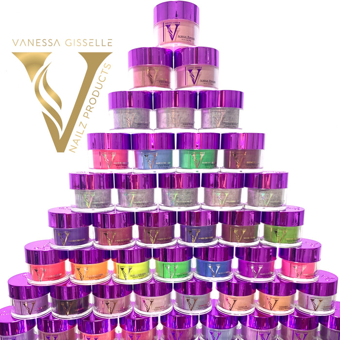 VN Full SOLID color Powders 75 colors