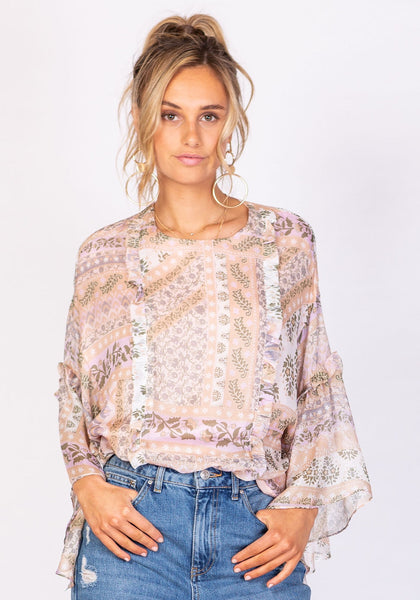Imperial Haze Blouse