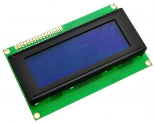 LCD2004 Parallel LCD Display with Yellow Backlight