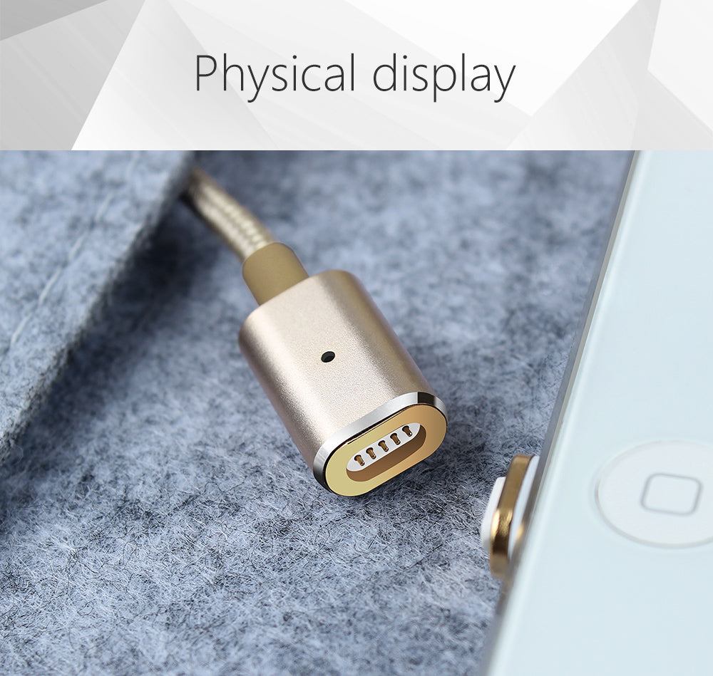 Magnetic Data cable USB AM to Lightning  (1.2 Meter)
