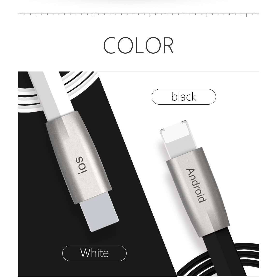 Mcdodo Premium Apple and Android cable | Same Connector | 1.0 m