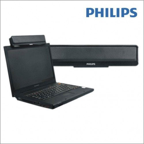 Philips SPA75 Portable Speakers (Black)