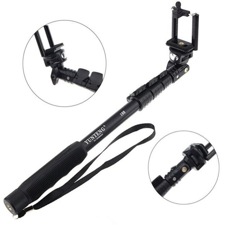 Selfie Extendable hand held waterproof stand
