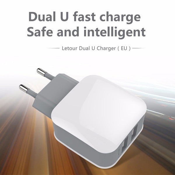 Portable mobile phone charger qualcomm quick charge super fast |3.0 USB wall charger