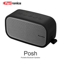 Portronics POR-568 Posh wireless Portable Bluetooth speaker ( Grey )