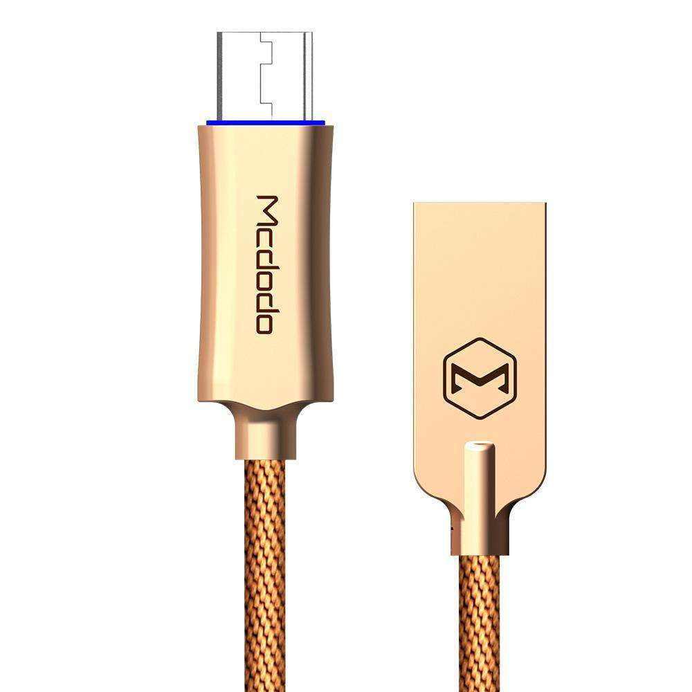 Mcdodo Premium Micro USB Data Cable | Auto Disconnect | Quick Charge 3.0 | 1.0 m