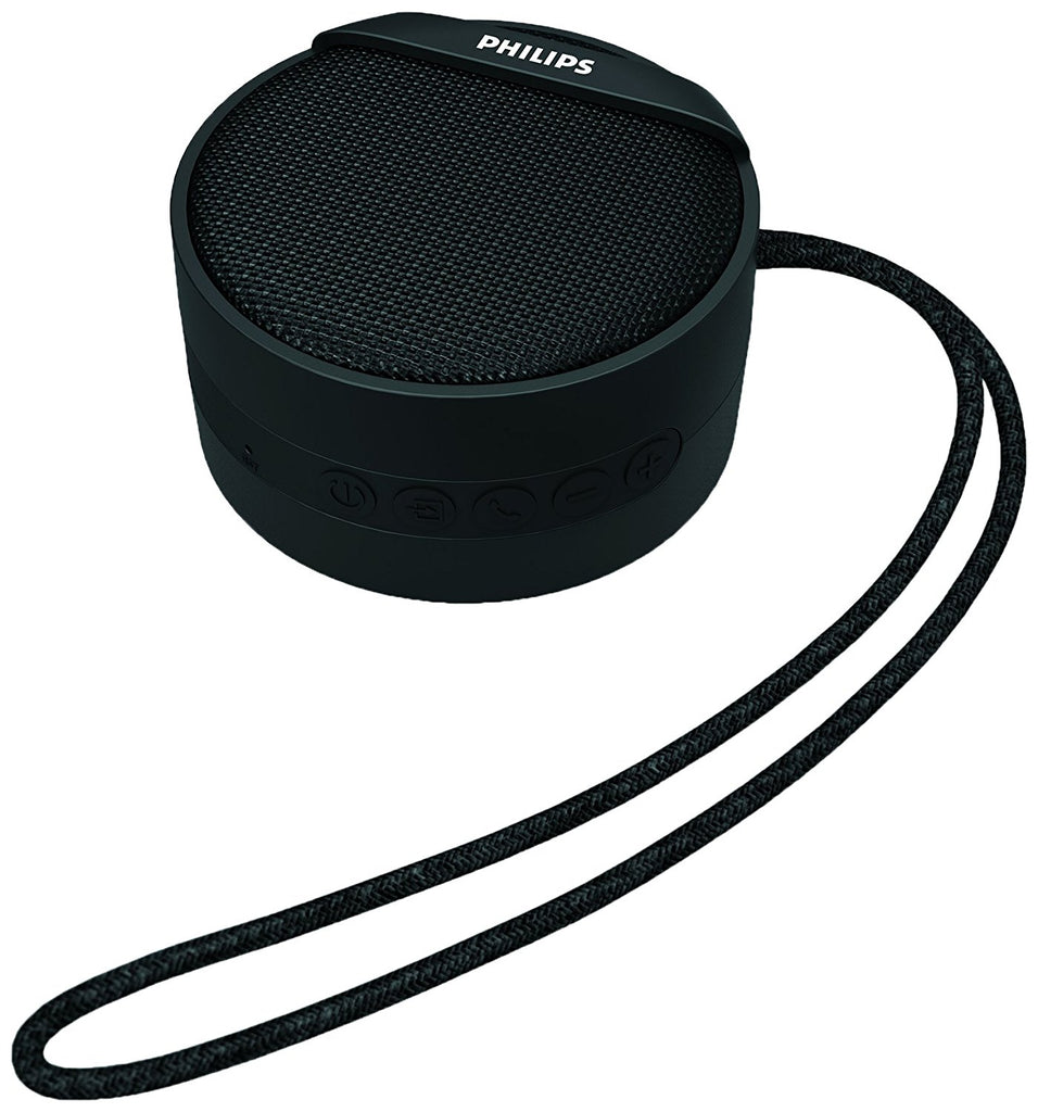 Philips BT40BK/94 Portable Wireless Bluetooth Speaker (Black)
