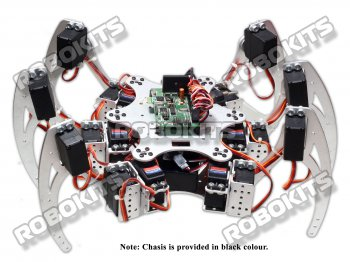 18DOF 6LEGGED INTELLIGENT HEXAPOD DIY PROJECT W/T SERVO CONTROL