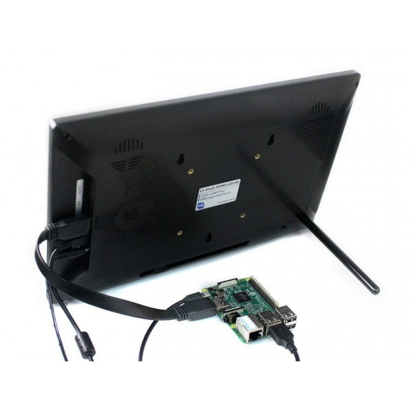 13.3inch HDMI LCD Touch Display (with plastic case) - 1920x1080, IPS For RaspberryPi