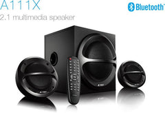 FD A111 X 2.1 Channel Multimedia Bluetooth Speakers (Black)