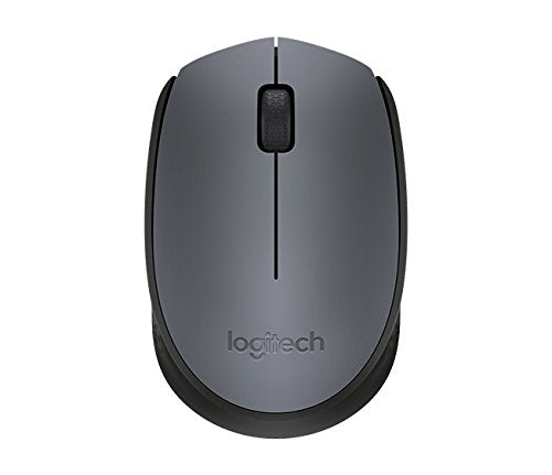 Logitech 910-004655 Wireless Mouse M171,(Grey)
