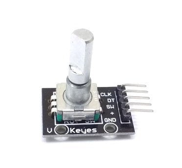 Rotary Encoder Module | 360 Degree Rotating | Compatible with Arduino Raspbery Pi NodeMCU