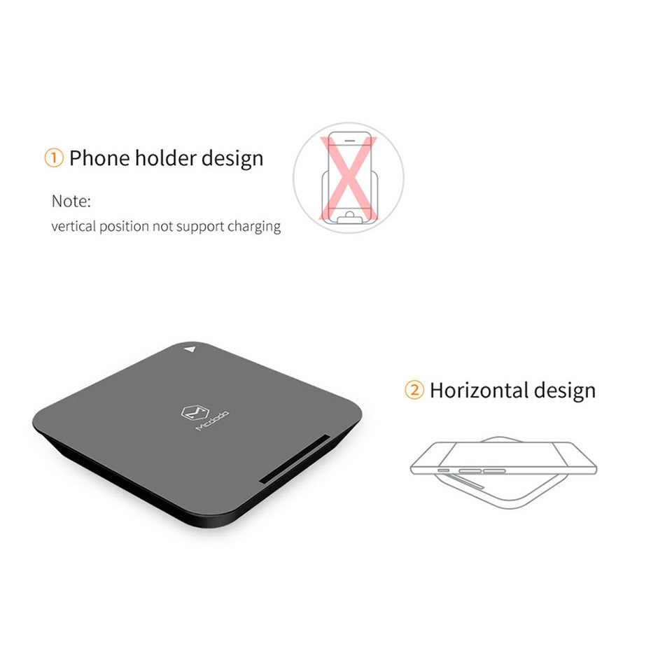 Mcdodo Wireless Charger | Qi Technology Fast Charging | Micro USB | 5W