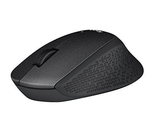 Logitech M331 Silent Plus Wireless Mouse- Black