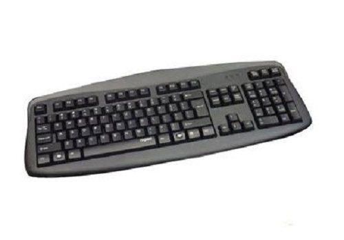 RAPOO N2500 USB Wired Keyboard (Black)