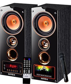 Intex IT-7500 SUFB 2.0 Channel Multimedia Speakers (Black) | Bluetooth