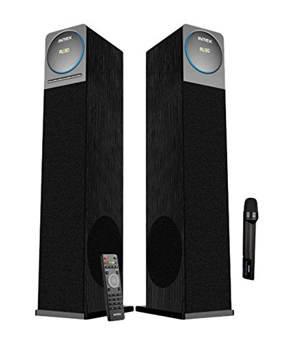Intex IT- 12001 SUFB 2.0 Channel Tower Speakers BT