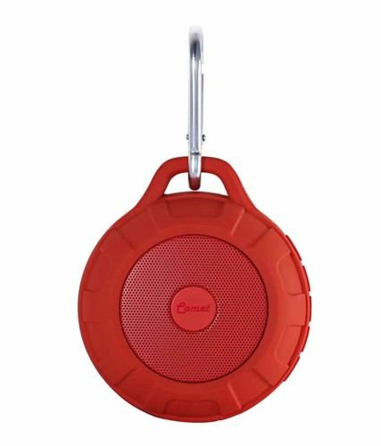 Portronics Comet POR 194 Portable Bluetooth Speaker - Red
