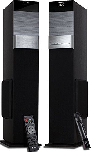 Intex IT-TW XM 12002 SUFB 2.0 Channel Multimedia Speakers (Black) | Bluetooth