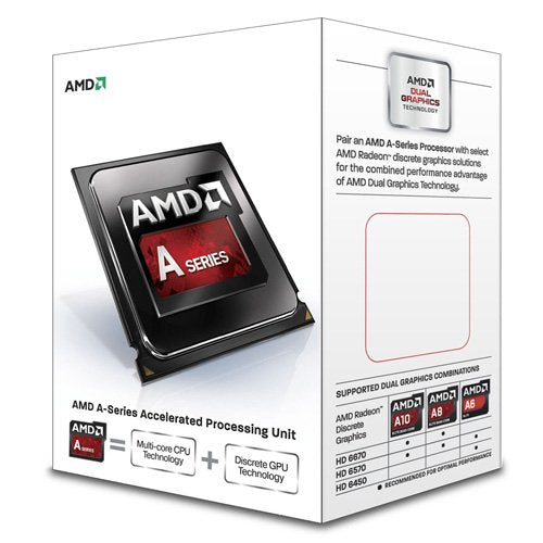AMD A8-6500 Richland 4.1GHz Socket FM2 65W Quad-Core Desktop Processor AMD Radeon HD