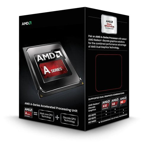 AMD Quad Core A10-Series APU for Desktops A10-6800K with Radeon HD 8670D