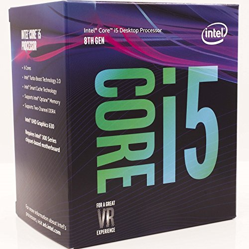 Intel® Core™ i5-8500 Processor 9M Cache, 3.00 GHz up to 4.10 GHz / 8th Generation / 6 core/ DDR4/ Intel® UHD Graphics 630